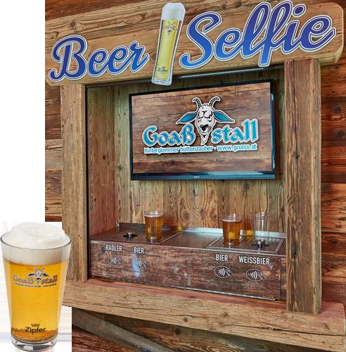 Das Beer Selfie