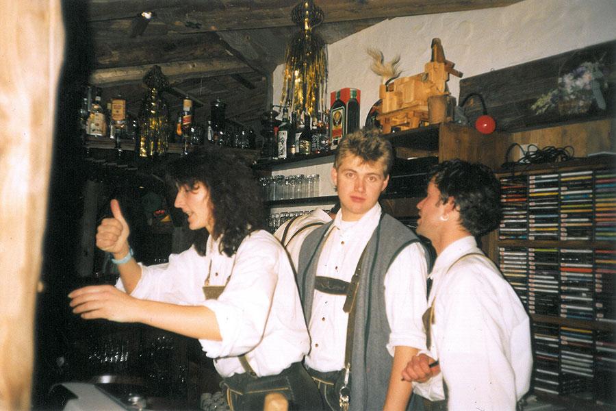 Die Bar im Goaßstall